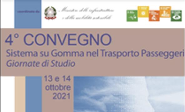 4° Convegno Sistema su Gomma nel trasporto passeggeri – 14 Ottobre